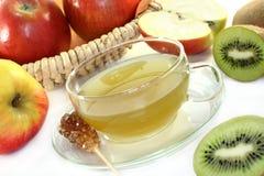 Kiwi apple tea Stock Image