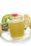 Kiwi-apple tea Stock Photos