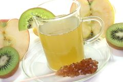 Kiwi-apple tea Royalty Free Stock Photography