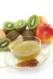 Kiwi-apple tea Royalty Free Stock Photos