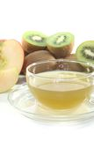 Kiwi and apple tea Royalty Free Stock Photos