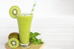 Kiwi apple yogurt juice smoothies healthy  green beverage taste delicious drink. Kiwi apple yogurt juice smoothies healthy  green beverage taste delicious drink royalty free stock photography