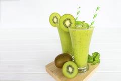 Kiwi apple yogurt juice smoothies healthy  green beverage taste delicious drink. Kiwi apple yogurt juice smoothies healthy  green beverage taste delicious drink royalty free stock image