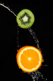 Kiwi arancio Immagine Stock