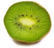 Kiwi auf dem weißen Hintergrund lokalisiert Stockfotos
