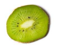 Kiwi auf dem weißen Hintergrund lokalisiert Lizenzfreie Stockfotos