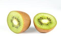 Kiwi auf Weiß Stockbild