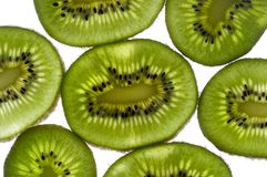 Kiwi background Stock Photography