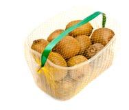Kiwi basket Stock Image