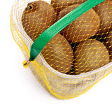 Kiwi basket Stock Photography