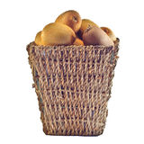 Kiwi basket Royalty Free Stock Image