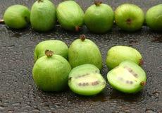 Kiwi berries Stock Images