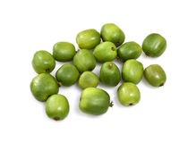 Kiwi Berry or Actinidia arguta Stock Photo
