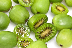 Kiwi Berry or Actinidia arguta Stock Images