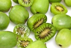 Kiwi Berry or Actinidia arguta stock images