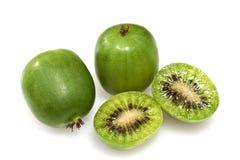 Kiwi Berry or Actinidia arguta Stock Image