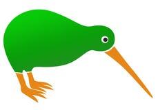 Kiwi bird. Vector illustration of green kiwi bird royalty free illustration