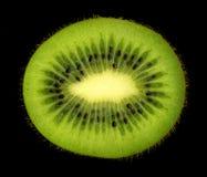Kiwi on black background Stock Image