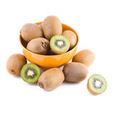 Kiwi in a bowl Royalty Free Stock Image