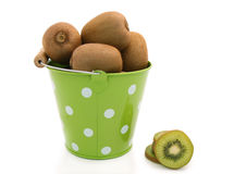 Kiwi in the bucket Stock Photos