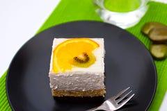 Kiwi cake Stock Images