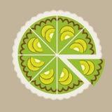 Kiwi Cake Imagen de archivo libre de regalías