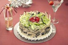 Kiwi Cake Stock Photography