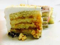 Kiwi and cassata pastries Royalty Free Stock Photo