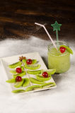 Kiwi Christmas tree Stock Photography