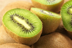 Kiwi close-up Stock Photo
