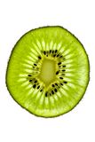 Kiwi Close Up. Close up shot of sliced kiwi fruit on white Stock Photography