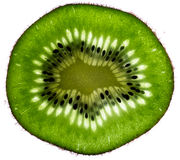 Kiwi close-up. Photograph of kiwi fruit with macro lens Stock Photos