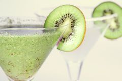 Kiwi cocktail royalty free stock image