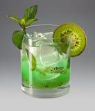 Kiwi cocktail Stock Photo