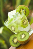 Kiwi cocktail Stock Photography