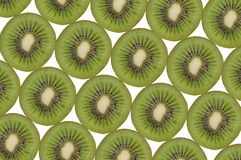 Kiwi composition Royalty Free Stock Photos