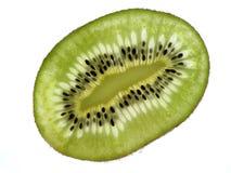 Kiwi coupé en tranches Photographie stock libre de droits