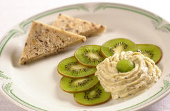 Kiwi cream Stock Images