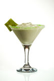 Kiwi Cream Cocktail Stock Photo