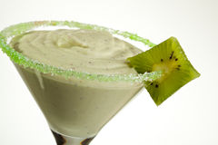 Kiwi Cream Cocktail Stock Photos