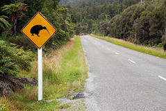 Kiwi crossing Royalty Free Stock Image