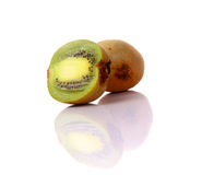 Kiwi cut in half Royalty Free Stock Photography