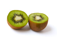 Kiwi cut in half Royalty Free Stock Photos