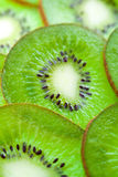 Kiwi cut by segments Royalty Free Stock Photo