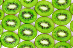 Kiwi, cut into slices Royalty Free Stock Images