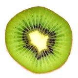 Kiwi découpé en tranches Photographie stock libre de droits