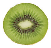 Kiwi d'isolement sur le blanc Photographie stock