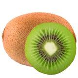 Kiwi d'isolement sur le blanc Photo stock