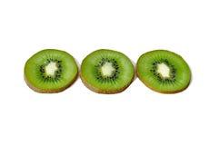 Kiwi d'isolement sur un fond blanc Image libre de droits