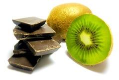 Kiwi de chocolat Image libre de droits
